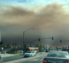 Wildfires Buena Park, CA (Photo Credit Tyler Bouma)