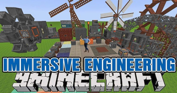Immersive-Engineering(9minecraft)