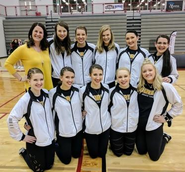 Dance team at GPAC