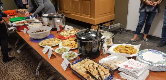 International potluck