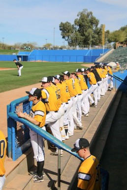 Dordt Baseball Arizona PC Caleb Pollema