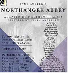 Northanger Poster PC Ally Visser