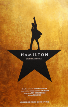 Contributed photo- Hamilton musical poster