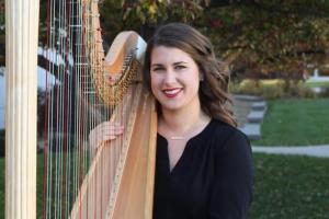 Anna Blauw harp recital
